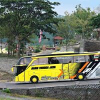 Sewa Bus Pariwisata Tangerang? Andara Bus Aja